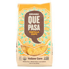 Que Pasa Tortilla Chip - Yellow Corn - Case of 12 - 16 oz.