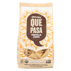 Que Pasa Tortilla Chips - White Corn - Case of 12 - 16 oz.