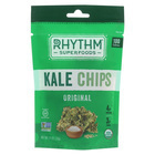 Rhythm Superfoods Kale Chips - Original - Case of 18 - 0.75 oz.