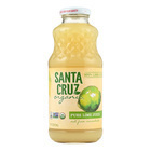 Santa Cruz Organic Pure Juice - Lime - Case of 12 - 16 Fl oz.