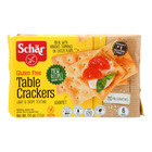 Schar Table Crackers Gluten Free - Case of 6 - 7.4 oz.