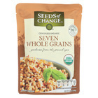 Seeds of Change Organic Microwavable Seven Whole Grains - Case of 12 - 8.5 oz.