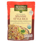 Seeds of Change Organic Microwavable Spanish Style Rice with Quinoa - Case of 12 - 8.5 oz.