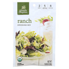 Simply Organic Ranch Salad Dressing Mix - Case of 12 - 1 oz.