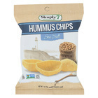 Simply 7 Hummus Chips - Sea Salt - Case of 24 - 1 oz.