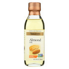 Spectrum Naturals Refined Sweet Almond Oil - Case of 6 - 8 Fl oz.