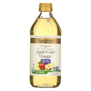 Spectrum Naturals Organic Filtered Apple Cider - 16 Fl oz.