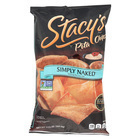 Stacy's Pita Chips Simply Naked Pita Chips - Case of 12 - 7.33 oz.