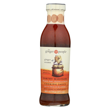 The Ginger People Sauce - Sesame - Case of 12 - 12.7 Fl oz.