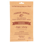Three Jerks Jerky Filet Mignon Original Jerky - Beefy and Savory - Case of 12 - 2 oz.