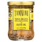 Tonnino Tuna Fillets - Lemon and Pepper, Olive Oil - Case of 6 - 6.7 oz.