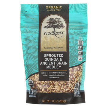 Truroots Organic Trio Quinoa - Accents Sprouted - Case of 6 - 10 oz.