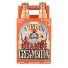 Virgil's Rootbeer Cream Soda - Orange Cream - Case of 6 - 12 Fl oz.