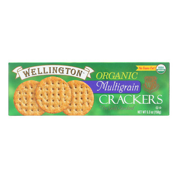 Wellington Organic - Multigrain Cracker - Case of 12 - 5.3 oz.