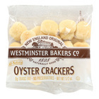 Westminster Cracker Oyster Old Fashioned Crackers - Case of 150 - 0.5 oz.