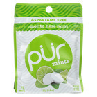 Pur Gum Mint - Mojito Lime - Case of 12 - 22 Gram