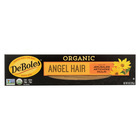 DeBoles - Organic Angel Hair Pasta - Case of 12 - 8 oz.