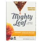 Mighty Leaf Tea Herbal Tea - Organic African Nectar - Case of 6 - 15 Bags