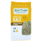 Rhythm Superfoods Kale Chips - Roasted Garlic and Onion - Case of 12 - 0.75 oz.