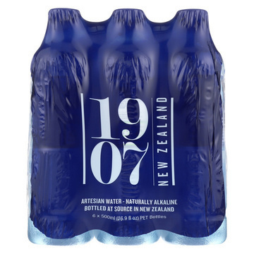 1907 New Zealand Artesian Water - Case of 4 - 16.69 FL oz.