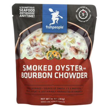Fishpeople Bourbon Chowder - Smoked Oyster - Case of 12 - 10 oz.