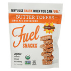 Foodie Fuel Organic Butter Toffee - Case of 6 - 4 oz.