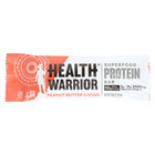 Health Warrior Superfood Protein Bar - Peanut Butter Cacao? - Case of 12 - 1.76 oz.