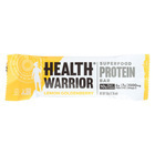Health Warrior Superfood Protein Bar - Lemon Goldenberry - Case of 12 - 1.76 oz.
