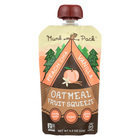 Munk Pack Peach Chia Vanilla - Peach - Case of 6 - 4.2 oz.