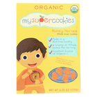 My Super Cookie Honey Heroes Whole Grain Cookies - Honey - Case of 6 - 6.25 oz.