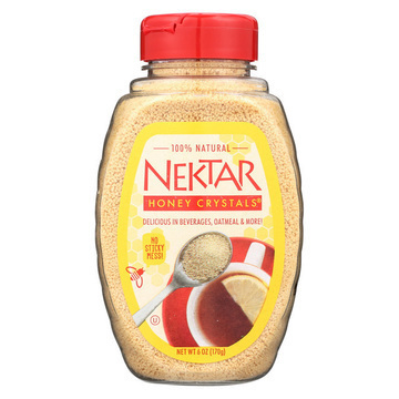 Nektar Honey Crystals Nektar Honey - Crystals - Case of 12 - 6 oz.