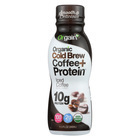 Orgain Organic Cold Brew Coffee Protein - Iced Coffee - Case of 12 - 11.5 Fl oz.