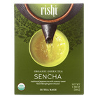Rishi Organic Green Tea - Sencha - Case of 6 - 15 Bags