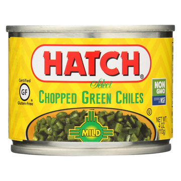 Hatch Chili Roasted Hatch Green Chile - Green Chile - Case of 24 - 4 oz.