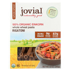 Jovial - Whole Wheat Einkorn Pasta - Rigatoni - Case of 12 - 12 oz.