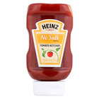 Heinz Ketchup - No Salt - Case of 6 - 14 oz.