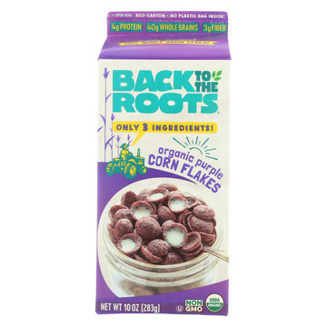 Back To The Roots Crackers - Organic Stoneground Wheat - Case of 8 - 10 oz.