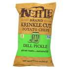 Kettle Brand Potato Chips - Dill Pickle - Case of 12 - 8.5 oz.
