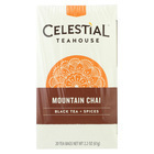 Celestial Black Tea - Mountain Chai - Case of 6 - 20 Bags