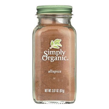 Simply Organic Allspice - Case of 6 - 3.07 oz.