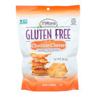Miltons Gluten Free Baked Crackers - Cheddar Cheese - Case of 12 - 4.5 oz.