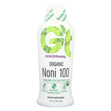 Genesis Today Organic Noni - 32 Fl oz.