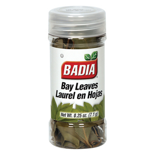 Badia Spices Whole Bay Leaves - Case of 12 - 0.25 oz.