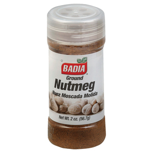Badia Spices Ground Nutmeg - Case of 12 - 2 oz.