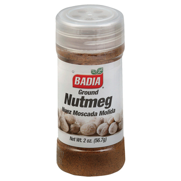 Badia Spices - Ground Nutmeg - Case of 12 - 2 oz.