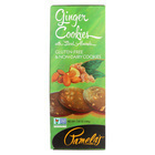 Pamela's Products Ginger Cookies - Sliced Almonds - Case of 6 - 7.25 oz.