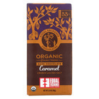 Equal Exchange Organic Milk Chocolate Bar - Caramel Crunch with Sea Salt - Case of 12 - 2.8 oz.
