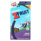 Clif Bar Organic Kid Twisted Fruit Rope - Grape - Case of 6 - 0.7 oz.