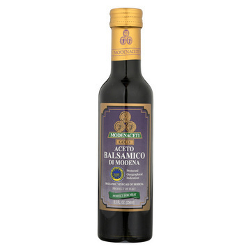 Modenaceti Balsamic Vinegar - Gold - Case of 6 - 8.45 Fl oz.