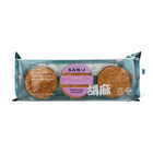 San - J Brown Rice Crackers - Sesame - Case of 12 - 3.7 oz.